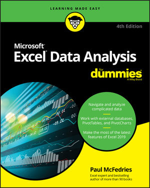 Excel-data-analysis-for-dummies