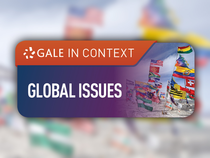 Database of the Month: Gale in Context: Global Issues