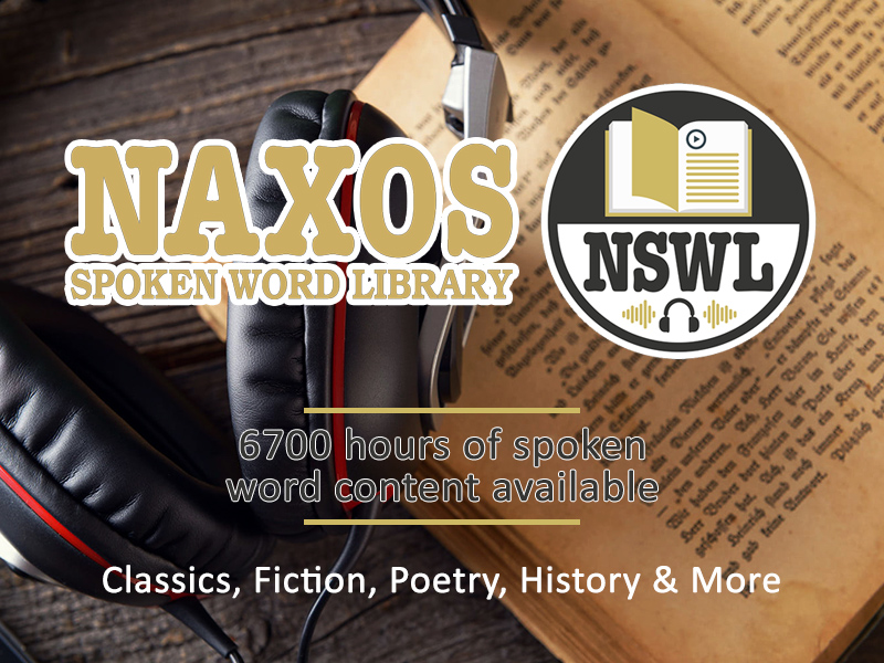 Database of the Month: Naxos Spoken Word Library