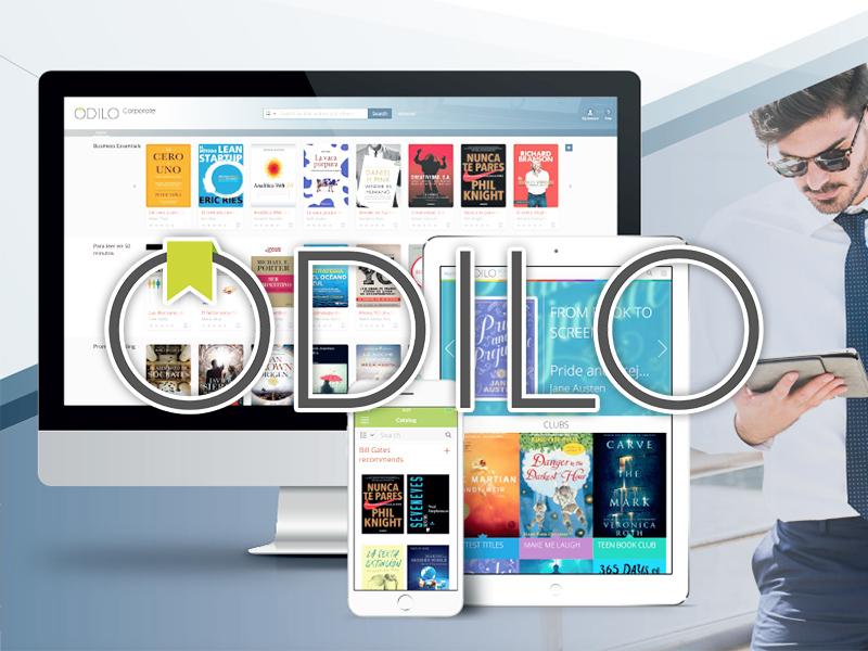 New Trial e-Book Platform: ODILO Digital Library