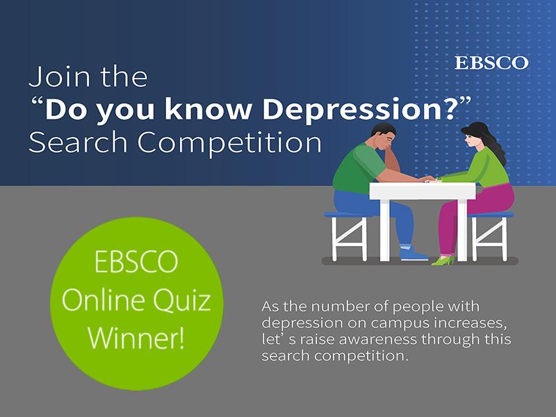 EBSCO Online Quiz Winner Announcement