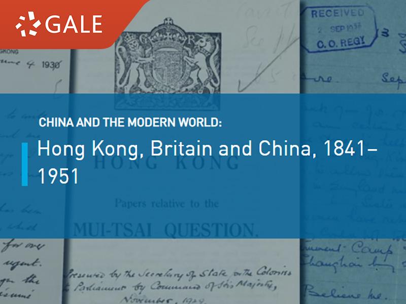 Hong Kong, Britain and China, 1841-1951 (War and Colonial Department and Colonial Office: Hong Kong, Original Correspondence)