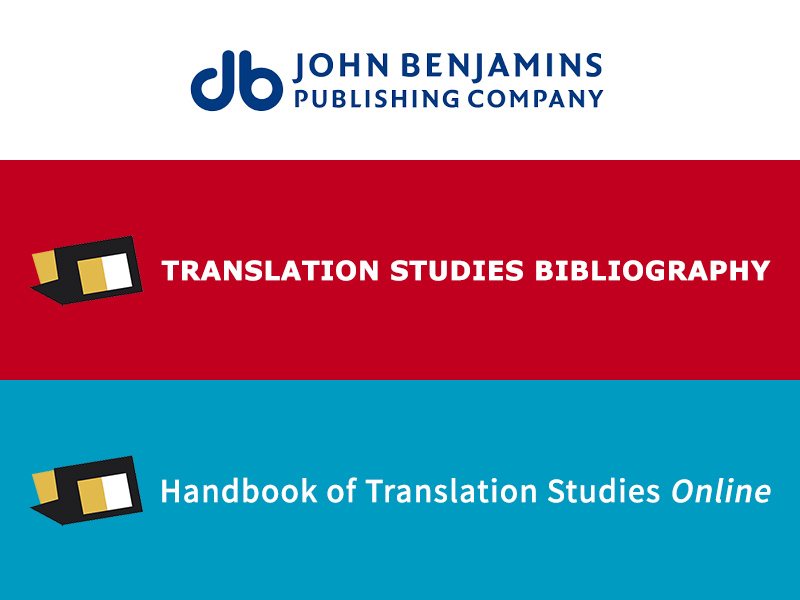 New Trial e-Databases: Translation Studies Bibliography & Handbook of Translation Studies