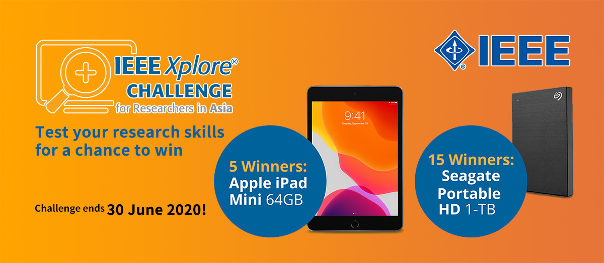 IEEE Xplore Challenge for Researchers in Asia