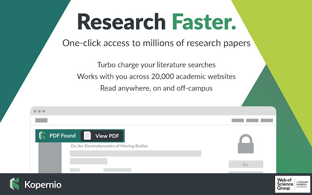 Kopernio: Research Faster